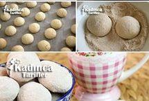 tarçınlı cevizli kurabiye