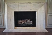 Natural Stone Fireplaces / Natural Stone Fireplaces