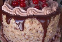 Food Bake Cake,Frosting