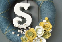 Home Decor - Front door / Wreaths for our front door / by Samantha McGlocklin