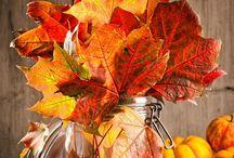 centro  tavolo  autunno