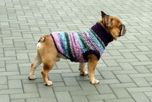 French Bulldog Crochet Sweaters / French Bulldog Sweaters