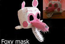 Fnaf masky