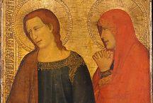 anioly z dawnego malarstwa