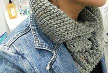 Golas em tricot