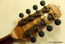 Bandolim de 8 cordas J M Santos