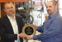 """3/27/12,Farmers Insurance Company presented an award for Pennsylvania """"Shop of the Year"""" to Classic Body Worx for 2011 / Best Auto Body Shop in Philadelphia"""