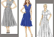 Things I want to Sew / A sewing wish list. Patterns that I want to sew.