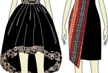 Batik Dress Design