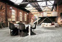 Warehouse loft design