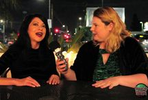 "Horror Talk with Kristin West / Kristin West hosts ""Horror Talk with Kristin West"" for Domain of Horror, a premiere sit for for fans of horror movies.  Top names in horror frequent this talk show hosted by scream queen Kristin West."