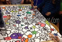 Group Art Projects for Children