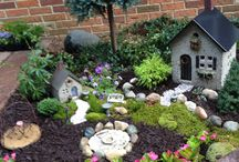 Fairy Gardens & Miniatures / by Tracy Sanchez