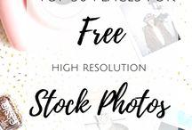 Stock photo sites