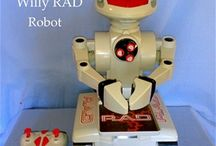 RC Radio Controlled Toys & Robots / Remote Controlled RC - Radio (& Sound) Controlled Toys - Model Boats, Cars & Robots