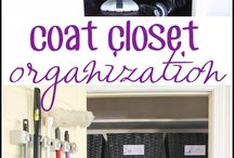 Organizing - Mudroom, Entryway & Coat Closet / We will explore that entryway area that collects all your incoming coats, shoes, bags, umbrellas and outerwear.