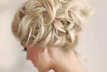 Wedding Hair and Headdresses / Hair, jewels, tiaras, veils and flowers for weddings.