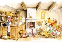 Lasten kirjat ja sadut/Children' s books and fairytales