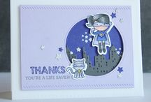 Card caped cuties