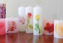 velas decorativa