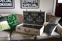 Upcycled / ideas for or photos about up cycling projects
