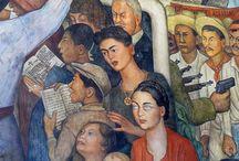 Diego Rivera e Frida Kahlo / Vita e opere dei due artisti