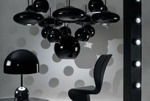 Tom Dixon Bell Lights / An exercise in reductionism, Bell is a dome suspended over a dome formed of plated pressed steel. The lamps are highly engineered, with no visible fixings and a minimalist design.