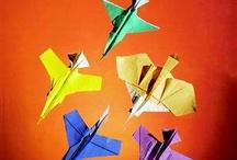 Paper / Origamis, cartões, marcadores e decoração com papel.