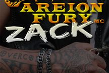 Zack (Areion Fury MC Book 1) / Areion Fury MC series Book one.