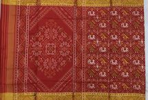 Silk saree / Exclusive Patola saree woven by Bhalabhai Patolawala which is woven in pure silk
