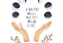 Moon / lune / féminin sacré