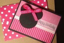 Handmade card / Kortteja eri tilanteisiin