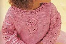 Sweterki dla wnuczek