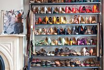 Closet Inspiration  / I'm turning a room into a closet... these are some of the ideas/styles I like