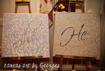 Wedding Crafty Details / by Elisabeth Price