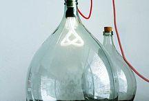 Proyecto lampara botella
