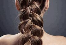 makeup color hairstyle