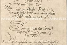Manuscript collections - Digitized collections sources