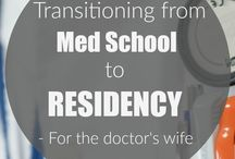 Surviving Residency/Fellowship / Some tools to help the doctor and the doctor's wife to survive their medical residency or fellowship.