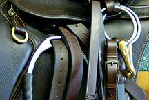 l e a t h e r   t a c k / gorgeous leather horse tack