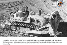 Euclid's Model TC-12 tractor- the 'Big Twin'