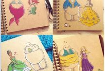 ✨DISNEY drawings✨