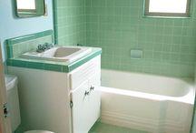 süslü banyo dekorları