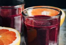 Smoothies, juice and teas