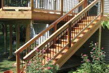 Loft staircase / Construction