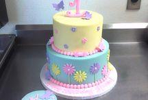 Birthday cake second year anniversary