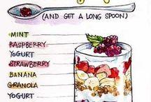 food ideas / by Dawn Milligan