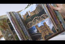 Heartfelt creations 3D flip fold album