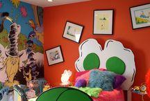 Dr. Seuss Room / by Courtney Jones-Mahoney