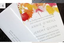 Wedding Invitations - Colourful